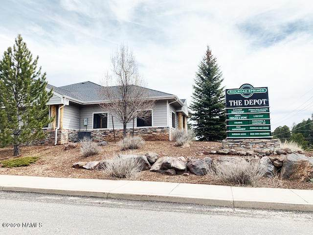 1750 N Railroad Springs Boulevard 9 & 10, Flagstaff, AZ 86001 (MLS #184265) :: Maison DeBlanc Real Estate