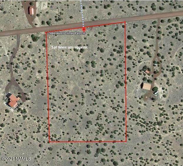 2446 W Critter Pass, Williams, AZ 86046 (MLS #184340) :: Keller Williams Arizona Living Realty