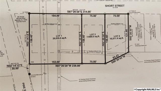 00 Short Street, Albertville, AL 35950 (MLS #1050337) :: Legend Realty