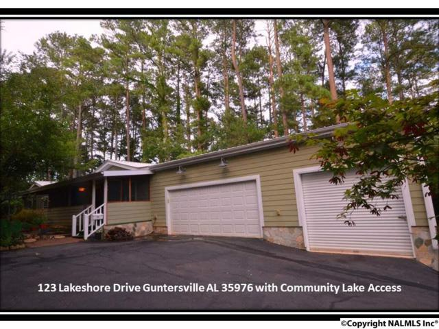 123 Lakeshore Drive, Guntersville, AL 35976 (MLS #1072164) :: RE/MAX Distinctive | Lowrey Team
