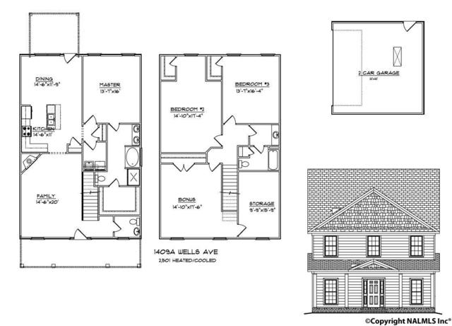 1409A Wells Avenue, Huntsville, AL 35801 (MLS #1082808) :: Amanda Howard Real Estate™