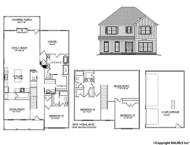 1302 Highland Avenue, Huntsville, AL 35801 (MLS #1084445) :: Amanda Howard Real Estate™