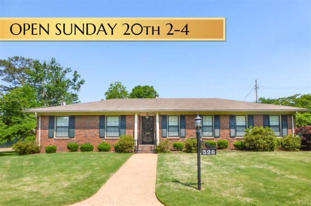 526 Lanier Circle, Huntsville, AL 35801 (MLS #1094048) :: RE/MAX Alliance