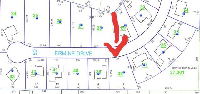0 Ermine Drive, Huntsville, AL 35810 (MLS #1097332) :: Capstone Realty