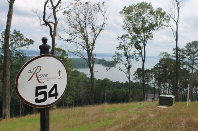 54 Fall Creek Drive, Guntersville, AL 35976 (MLS #1098260) :: Amanda Howard Sotheby's International Realty