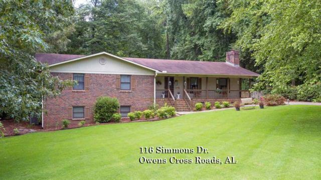 116 Simmons Drive, Owens Cross Roads, AL 35763 (MLS #1099181) :: RE/MAX Distinctive | Lowrey Team