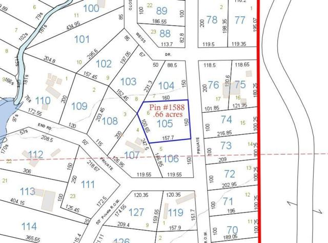 Lots 6,7, and 8 County Road 667, Cedar Bluff, AL 35959 (MLS #1103502) :: Rebecca Lowrey Group