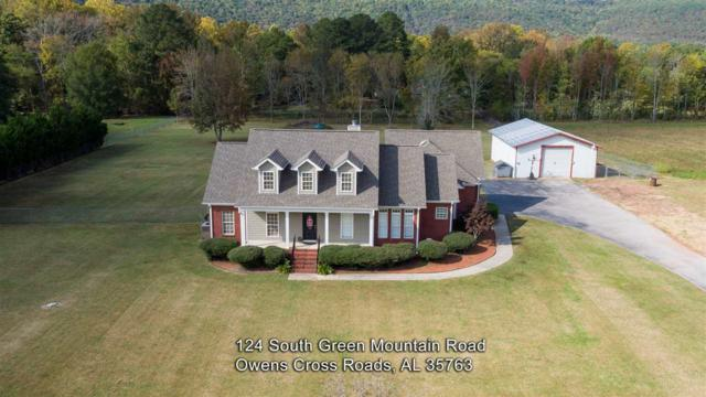 124 Green Mountain Road, Owens Cross Roads, AL 35763 (MLS #1106782) :: RE/MAX Alliance