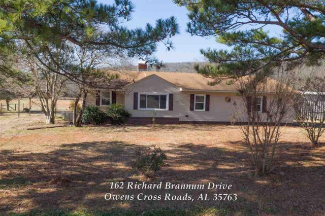 162 Richard Brannum Drive, Owens Cross Roads, AL 35763 (MLS #1110284) :: Amanda Howard Sotheby's International Realty