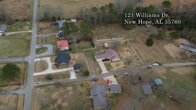 121 Williams Drive, New Hope, AL 35760 (MLS #1112213) :: Amanda Howard Sotheby's International Realty