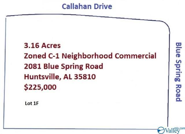 2081 Blue Spring Road, Huntsville, AL 35810 (MLS #1117768) :: Amanda Howard Sotheby's International Realty