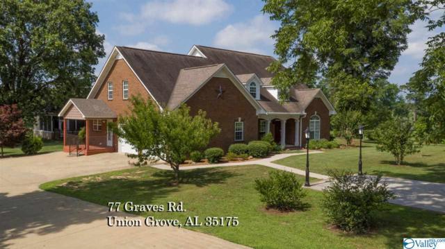 77 Graves Road, Union Grove, AL 35175 (MLS #1123504) :: Amanda Howard Sotheby's International Realty