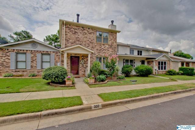 337 Chateau Drive, Huntsville, AL 35801 (MLS #1124012) :: Capstone Realty