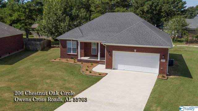 206 Chestnut Oak Circle, Owens Cross Roads, AL 35763 (MLS #1128837) :: Amanda Howard Sotheby's International Realty