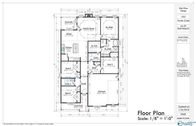 117 Khaki Ridge Drive, Hazel Green, AL 35750 (MLS #1129504) :: Amanda Howard Sotheby's International Realty