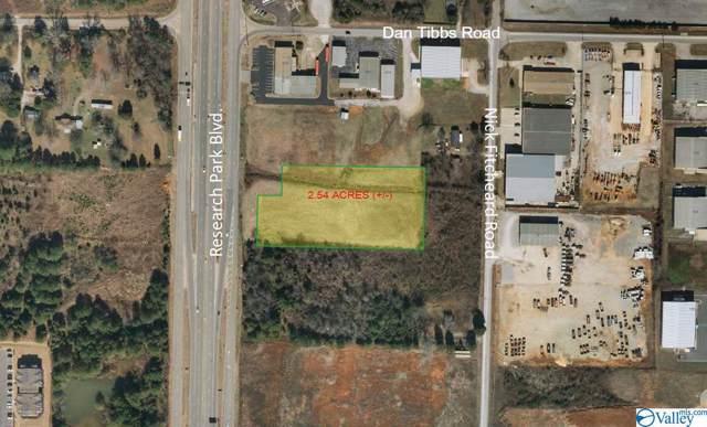 0 Research Park Blvd, Huntsville, AL 35806 (MLS #1129692) :: Amanda Howard Sotheby's International Realty