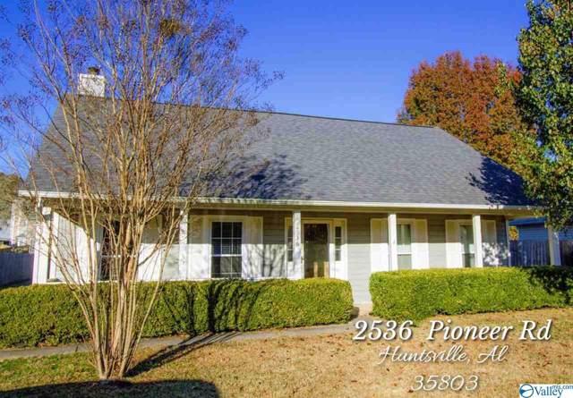 2536 Pioneer Road, Huntsville, AL 35803 (MLS #1132162) :: Legend Realty
