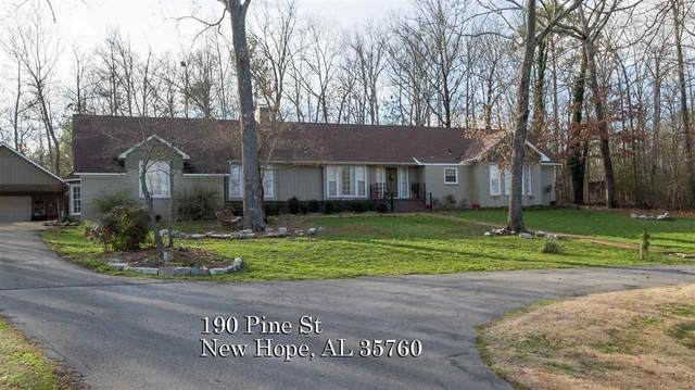190 Pine Street, New Hope, AL 35760 (MLS #1137147) :: Amanda Howard Sotheby's International Realty