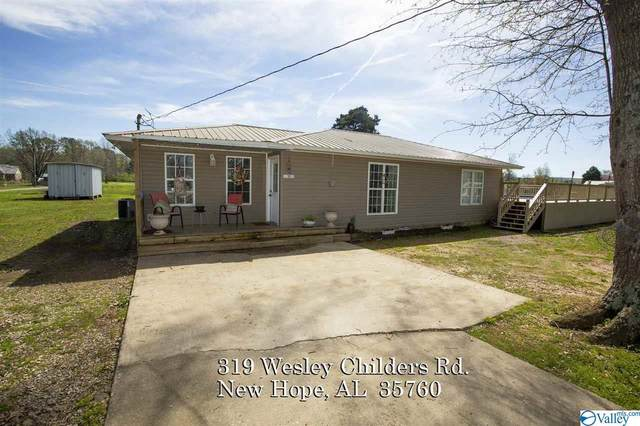319 Wesley Childers Road, New Hope, AL 35760 (MLS #1140725) :: Amanda Howard Sotheby's International Realty