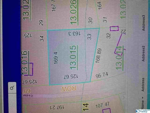 0 Cedar Ridge Circle, Hokes Bluff, AL 35903 (MLS #1775051) :: Rebecca Lowrey Group