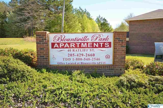 40 Ratliff Street, Blountsville, AL 35031 (MLS #1777486) :: MarMac Real Estate