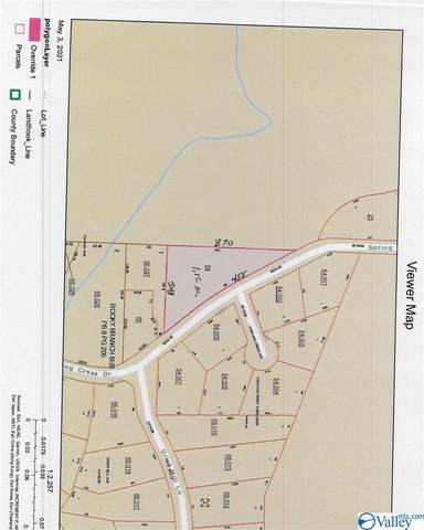 00 Spring Creek Drive, Guntersville, AL 35976 (MLS #1780327) :: Dream Big Home Team | Keller Williams