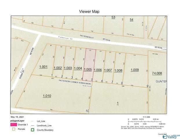 LOT 5 Patterson Street, Guntersville, AL 35976 (MLS #1781568) :: Green Real Estate