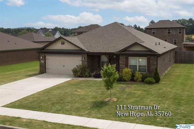 111 Stratman Drive, New Hope, AL 35760 (MLS #1782402) :: Amanda Howard Sotheby's International Realty