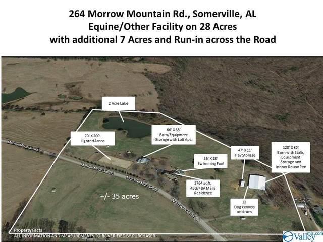 264 Morrow Mountain Road, Somerville, AL 35670 (MLS #1144275) :: Amanda Howard Sotheby's International Realty