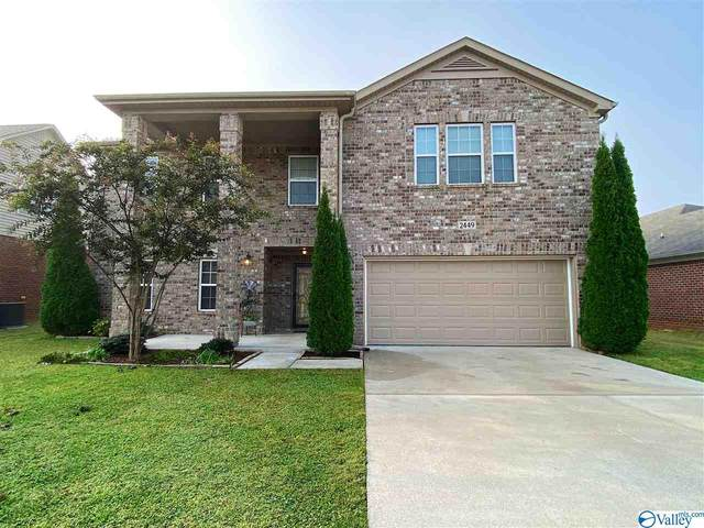 2449 Bell Manor Drive, Huntsville, AL 35803 (MLS #1152809) :: Legend Realty