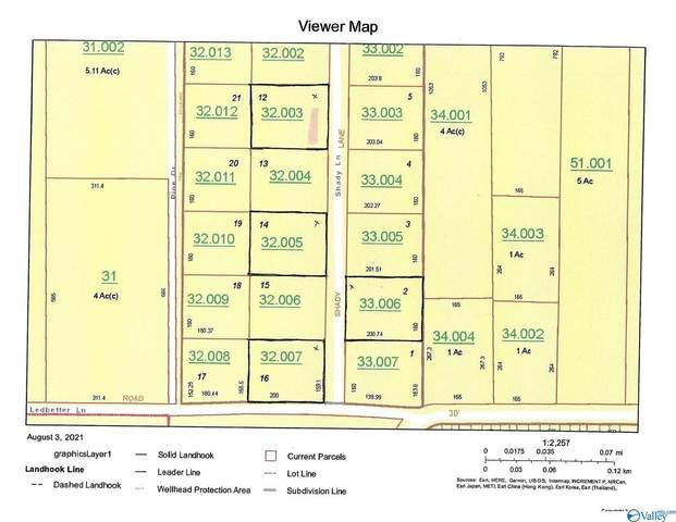 Lot 12 Shady Lane, Geraldine, AL 35974 (MLS #1787841) :: Southern Shade Realty