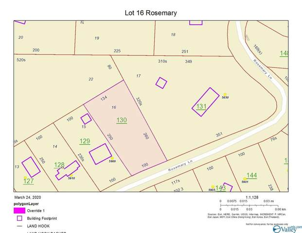 Lot 16 Rosemary Lane, Cedar Bluff, AL 35959 (MLS #1079217) :: The Pugh Group RE/MAX Alliance