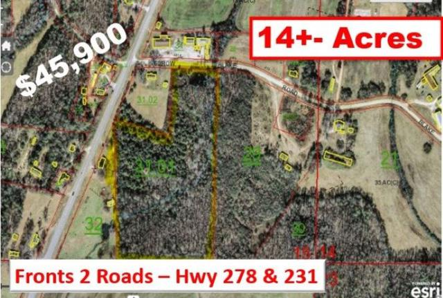 0 Blake Road, Blountsville, AL 35031 (MLS #1096653) :: RE/MAX Alliance