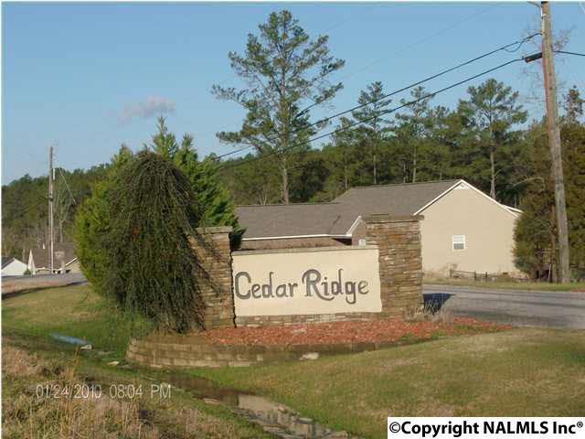 Lot 24 Cedar Ridge Circle, Hokes Bluff, AL 35903 (MLS #1085373) :: Amanda Howard Real Estate™