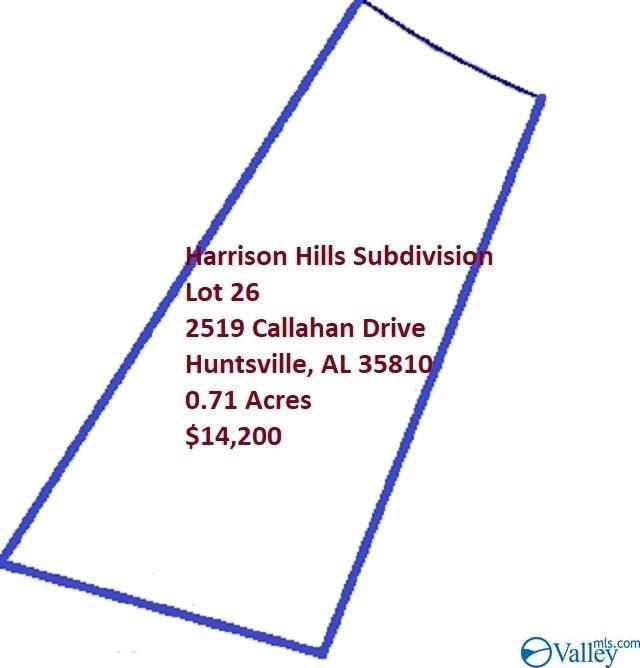 2519 Callahan Drive, Huntsville, AL 35810 (MLS #1117767) :: Capstone Realty