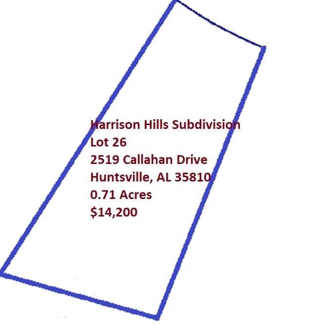 2519 Callahan Drive, Huntsville, AL 35810 (MLS #1091700) :: The Pugh Group RE/MAX Alliance