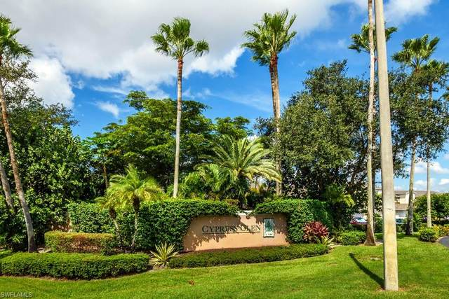 3225 Cypress Glen Way #115, Naples, FL 34109 (MLS #220066726) :: Realty Group Of Southwest Florida