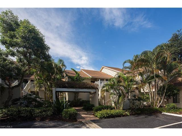 608 Courtside Dr F-203, Naples, FL 34105 (MLS #217062862) :: The New Home Spot, Inc.