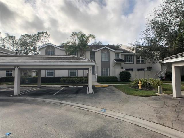 3755 Fieldstone Blvd #105, Naples, FL 34109 (MLS #218009754) :: The New Home Spot, Inc.