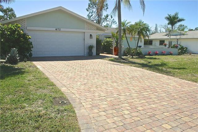 672 Pompano Dr, Naples, FL 34110 (MLS #218015474) :: The New Home Spot, Inc.