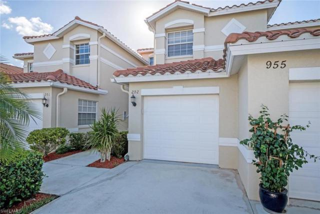 955 Eastham Way G-202, Naples, FL 34104 (#218015809) :: Equity Realty