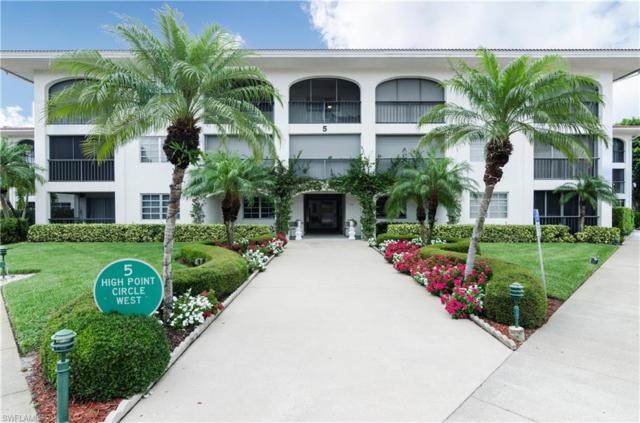 5 High Point Cir W #202, Naples, FL 34103 (MLS #218016783) :: The Naples Beach And Homes Team/MVP Realty