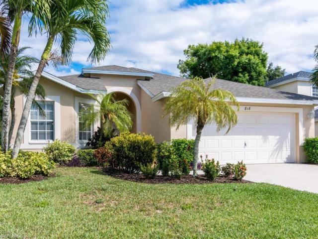 818 Briarwood Blvd, Naples, FL 34104 (MLS #218037460) :: RE/MAX DREAM