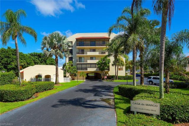 1041 S Collier Blvd #402, Marco Island, FL 34145 (MLS #218060935) :: RE/MAX DREAM