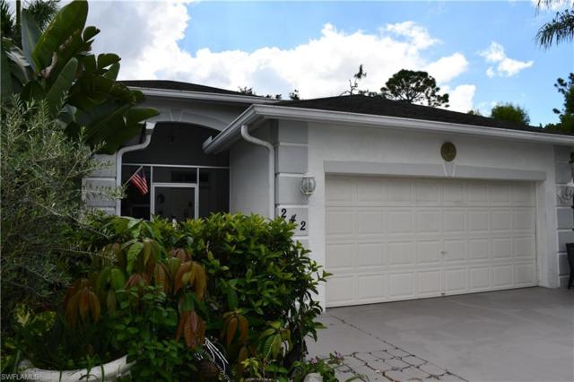 242 Stanhope Cir, Naples, FL 34104 (#218061513) :: Equity Realty