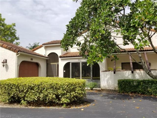 351 Bay Forest Dr 1A, Naples, FL 34110 (MLS #218065169) :: The New Home Spot, Inc.