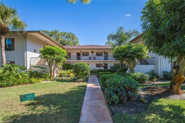 1865 Courtyard Way F-206, Naples, FL 34112 (MLS #218081605) :: The New Home Spot, Inc.