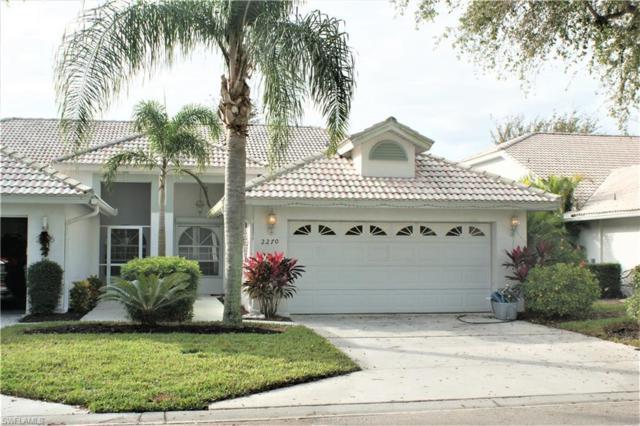 2266 Stacil Cir #3, Naples, FL 34109 (#218085201) :: Southwest Florida R.E. Group Inc
