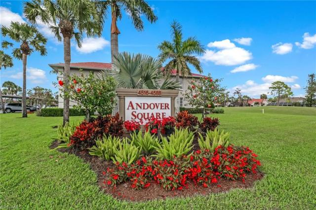 4524 Andover Way I-106, Naples, FL 34112 (MLS #219001759) :: The Naples Beach And Homes Team/MVP Realty