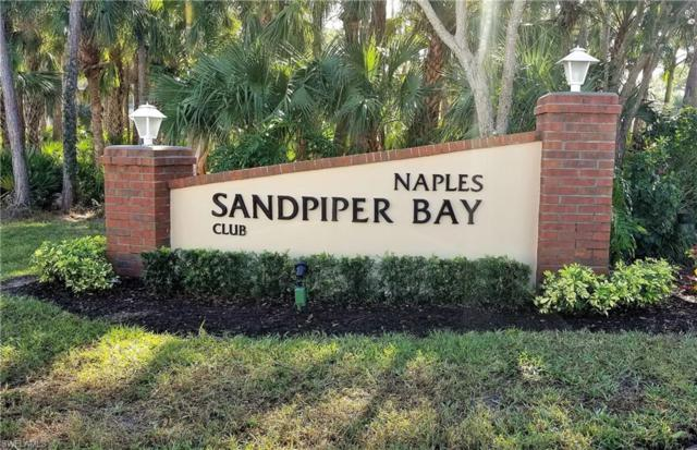3002 Sandpiper Bay Cir A106, Naples, FL 34112 (MLS #219004234) :: The New Home Spot, Inc.